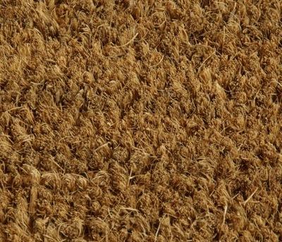 Kokosový Mat prírodné priemer topánky dvere