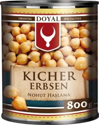 горох , нут в маринаде 800г DOYAL хумус