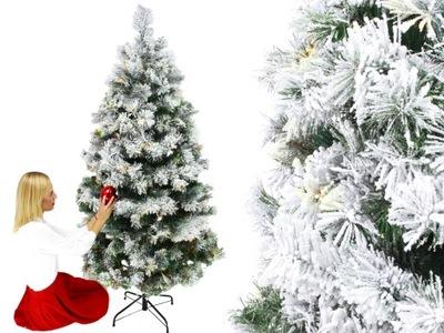 Vianočné stromčeky - STROM BOROVICE, 300 LED BIELA PE 12 ROKOV GW
