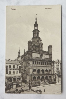 PZ 316  Ратуша Posen Rathaus