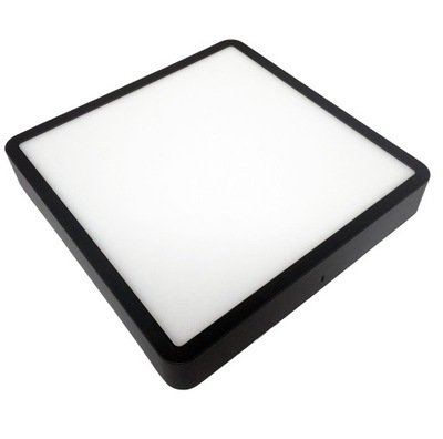 панель LED для настенного монтажа ПЛАФОН ЛАМПА 24W Черный