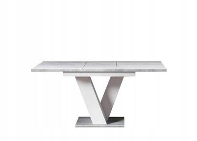 стол ?????????? 120-160 Белый бетон 5дней +
