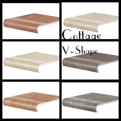 плитки Плитка Stopnica V-Shape Cottage 30x32/50