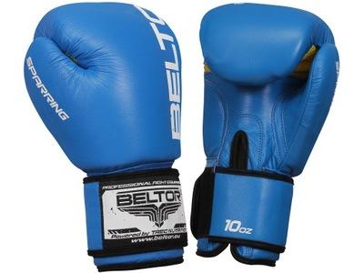 Beltor Boxerské Rukavice 16 oz tréning s neútočícím súperom na TRECIE