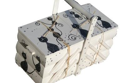 БОЛЬШАЯ  ящичек контейнер для ниток подарок