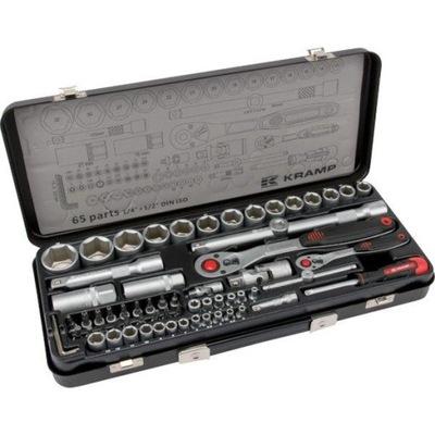 Sada nástrčných kľúčov 1/4 + 1/2 Professional