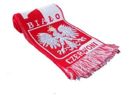 Szalik kibica Reprezentacji Polski (tkany). Super!