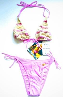 bdffb5797af8d7 SELF Strój kąpielowy bikini 1004 42E XL siateczka 7286006037 ...