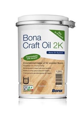 Bona Craft Oil - масло 2 K - Нейтральный - 1 ,25 L