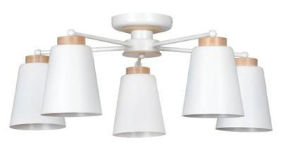 STYL SKANDYNAWSKI LAMPA SUFITOWA PERIOT 5 EMIBIG