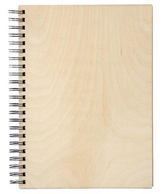 Drewniany album na zdjęcia wklejane A4 PIONOWY