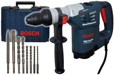 МОЛОТОК GBH 4 -32 DFR Bosch + 6 СВЕРЛА 2 СТАМЕСКИ