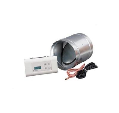 Regulátor rýchlosti - Krbový regulátor s klapkou fi 125 MSK PLUS