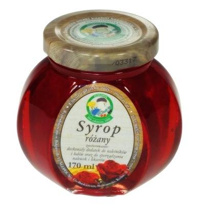 сироп РОЗА из лепестков розы дамасской 170ml