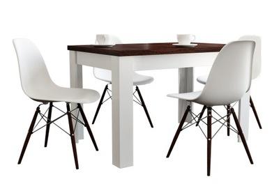 NOWOŚĆ stół rozkładany 80x140x180 + 4 krzesła