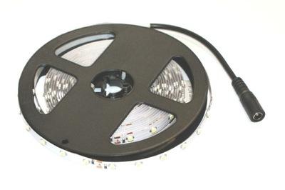 Osvetlenie nábytku LED pás - Taśma LED 3528 biała ciepła 5m/300diod 24V + DC