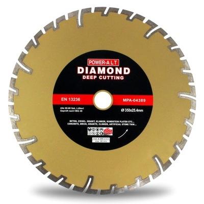 Rezací kotúč - DIAMOND BLADE 350 x 25,4 POWERALT