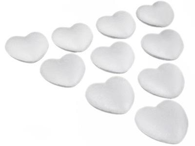 10шт 8см сердце сердца ПЕНОПЛАСТОВЫЕ шарики Форма