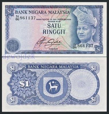MAX - МАЛАЙЗИЯ 1 Малайзийский (1981) года. # UNC