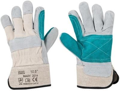 Pracovné rukavice 12 párov Kožené ORIGINAL Ardon 10,5