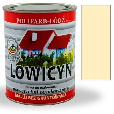 Lowicyn teplej farby slonoviny, 5L RAL1014 MAT