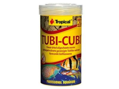 Tropical TUBI CUBI - pożywne kostki rurecznika !