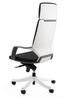 Design kreslo Apollo high - black-white