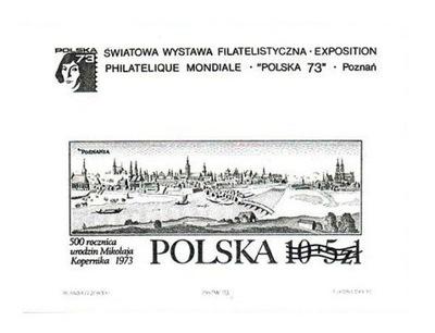 Bl 46 / 91 ND** Выставка Filatelistyczna czarnodruk