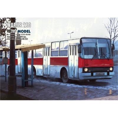 Angraf 6/17 - Autobus Ikarus 280 1:25