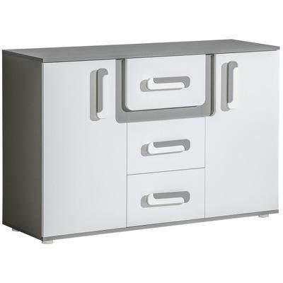 мебель APETITO 7 большой комод ящиками белая +цв