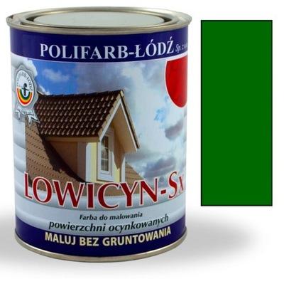 Lowicyn Sx farba TRÁVA ZELENÁ RAL6010 LESK 5L