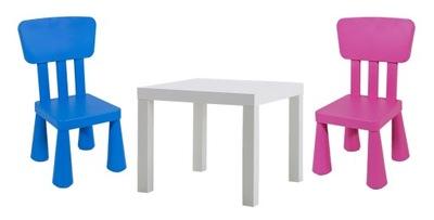 Икеа столик ЛАКК +2 стульчик МАММУТ мамонт подарки