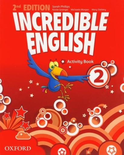 Incredible English 2 activity book Grainger Kirsti