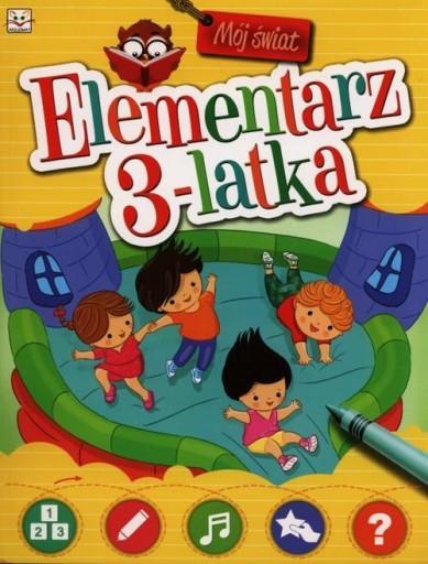 Mój świat Elementarz 3-latka