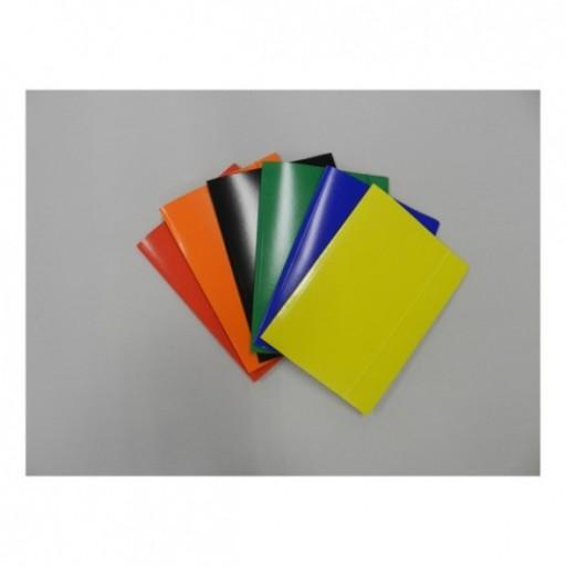 TECZKA Z GUMKĄ A4 lakier do wyboru w 6 kolorach
