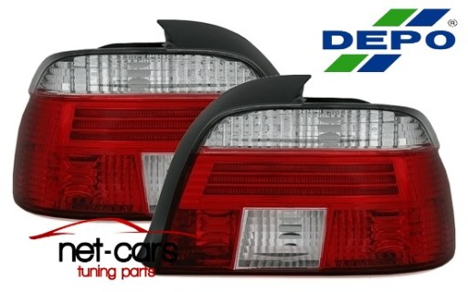 Lampy Tylne Bmw 5 E39 E 39 Neon Lifting Depo Sedan