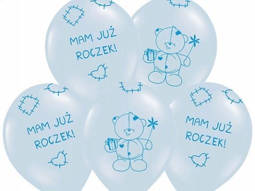 Balony Dekoracja Na Roczek 1 E Urodziny Mocne Xxxl 6077205785