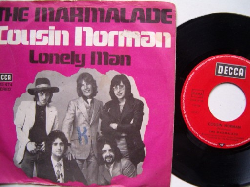 THE MARMOLADE  - COUSIN NORMAN - LONELY MAN