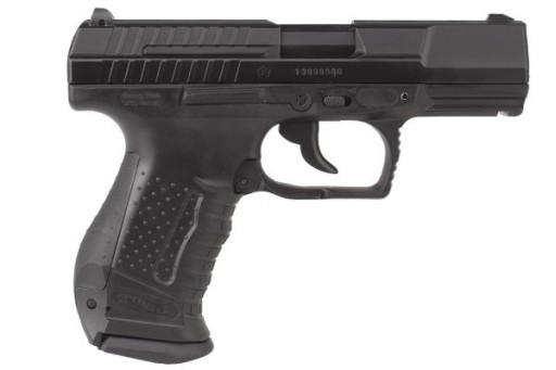 Pistolet ASG WALTHER P99 DAO METAL BLOW BACK+5CO2+