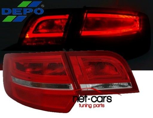 Lampy Tylne Audi A3 8p 09 Neon Lift Sportback Cb