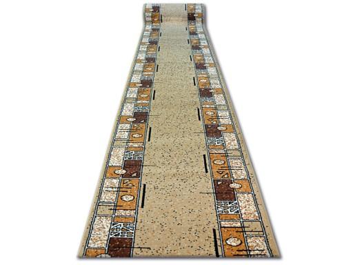 Dywany łuszczów Chodnik Base 100cm Ramka Beż