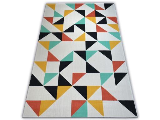 Dywany łuszczów Scandi 120x170 Trójkąty B267