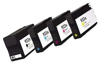 TUSZE zamienniki HP OfficeJet 933XL 932XL CMYK