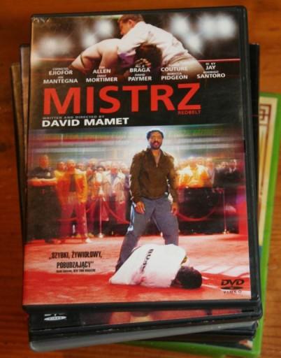 MISTRZ    DVD  DAVID MAMET