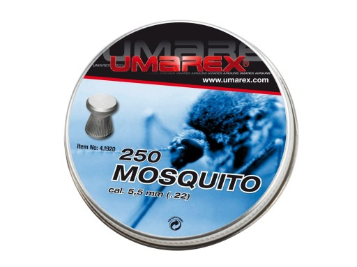 Śrut Umarex Mosquito Ribbed 5.5 mm 250 szt MATCH