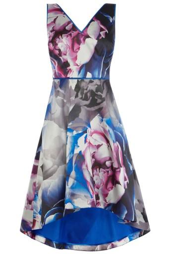 Sukienka koktajlowa w kwiaty Coast - 36 1497