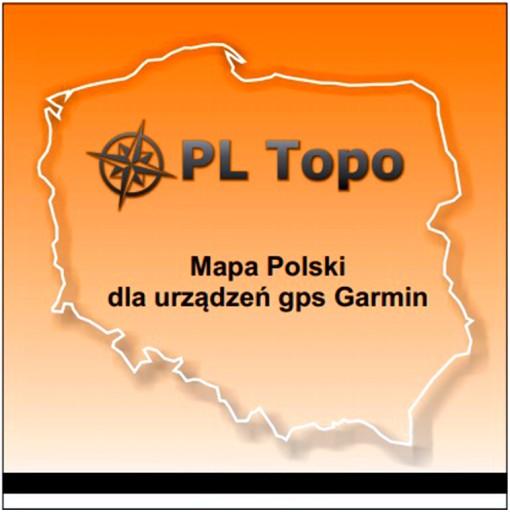 TURYSTYCZNA I DROGOWA MAPA POLSKI GPMAPA PLTOPO