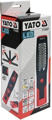 YATO рабочая ЛАМПА 307 LED, Li-Ion, micro-USB купить с доставкой из Польши с Allegro