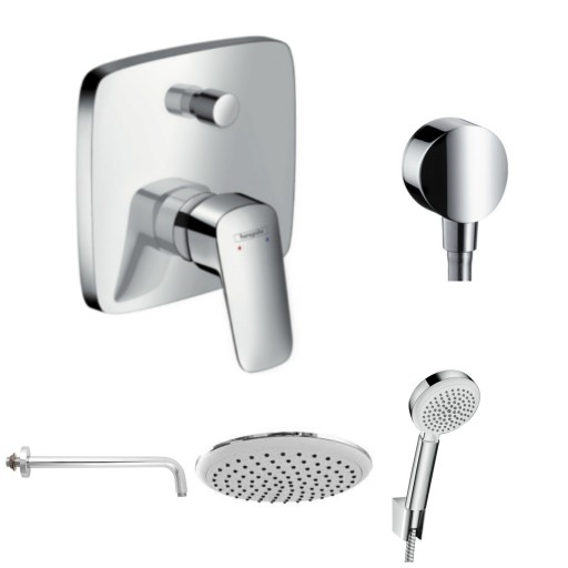 Hansgrohe Prysznic Podtynkowy Logis 71405 Komplet 6906323022