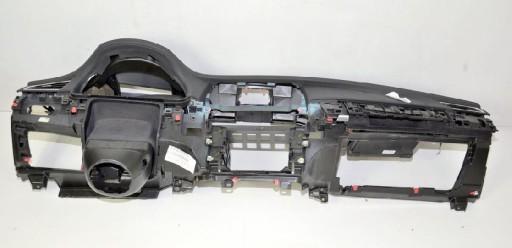 BMW F01 F02 kokpit deska konsola skóra Head-Up